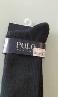 Polo Ralph Lauren black long socks (24cm -26cm)