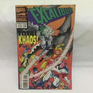 Excalibur Annual Vol.1 No.1 - 1993