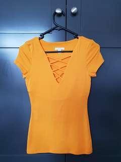 Kookai T-shirt - Lemon