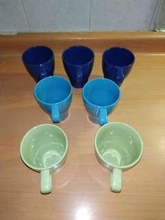7 x brand new and unused IKEA cups with free delivery