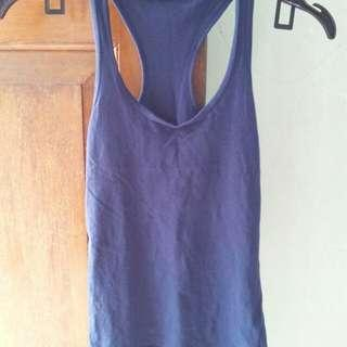 Pull & bear tank tops dark blue