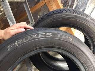 Barely used tyres