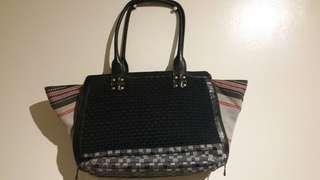 RAGS2RICHES Black Shoulder Bag