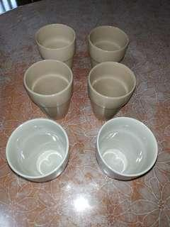 6 x brand new and unused IKEA cups with free delivery