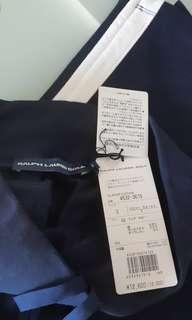 Ralph Lauren Golf long pants ( small size)