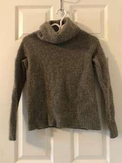 Aritzia Community brand turtleneck sweater