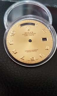 Rolex Day Date President ARABIC watch dial for men 36mm 18238 18038
