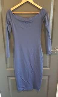 Kookai Nautical Violet dress - Navy