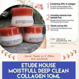 💕Etude House Moistfull Collagen Cream💕
