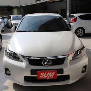 2012 Lexus Ct200h白