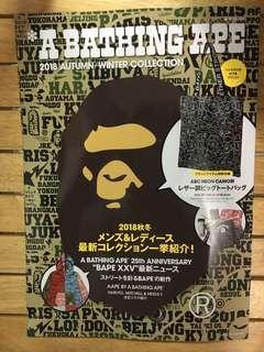 A Bathing Ape🦍 2018 秋冬 雜誌 不連袋