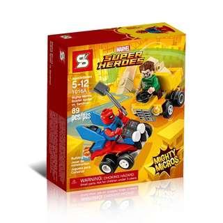 SY™ 1016A Marvel Mighty Micros Scarlet Spider vs. Sandman