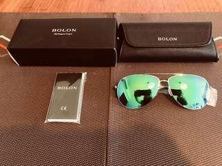正品全新意大利設計名牌 Bolon 太陽眼鏡一副