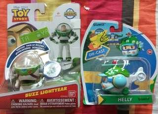 Buzz Lightyear & Helly