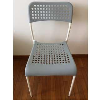 Brand New Grey and White Chair