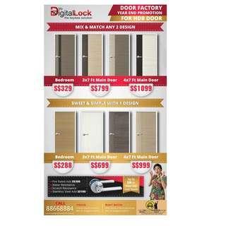 bedroom door promotion,Call 88668884