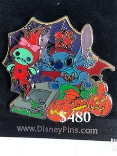 Disney Pin 迪士尼 徽章襟章 Stitch 史迪仔