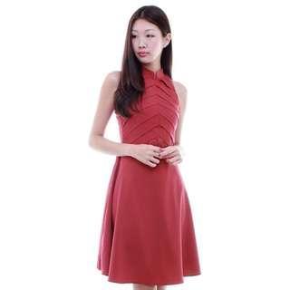 Sadie Peony Mandarin collar Cheongsam