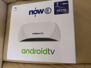 Now E ANDROID TV 已開未用
