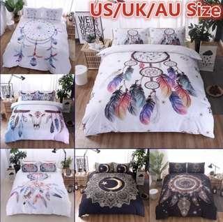 Bohemian Bedding Sets pillowcase quilt uk/us/au