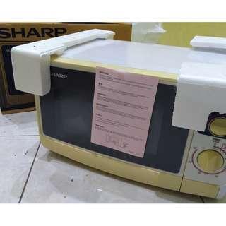 Jual Microwave Oven SHARP Belum Pernah Pakai Murah Banget