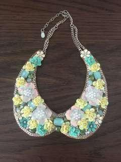 Accessorize Fake Collar/Statement Necklace