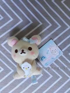 10 cm Rilakuma Sanrio Sofy Toy Keychain