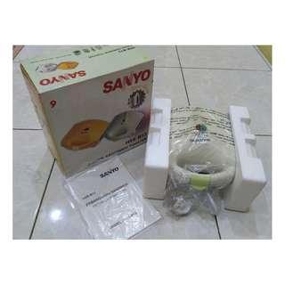 Jual Pemanggang Listrik Roti Sandwich Toaster SANYO Belum Pernah Pakai Murah Banget