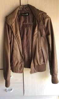 NEW Forever 21 Faux Leather Jacket