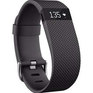 Fitbit Charge HR - Black Size Small