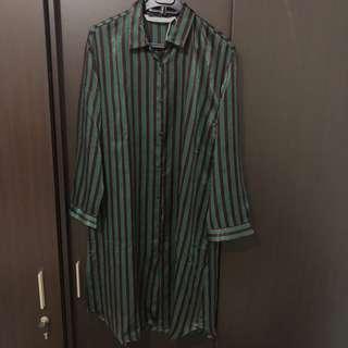 ZARA striped tunic