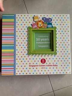 SG50 scrapbook kit golden jubilee baby