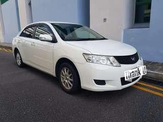 Toyota Allion for Grab Relief