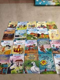 Story World level 2 books ( 3 to 4 years old)