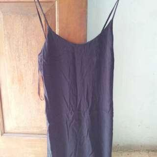XXI forever 21 black top cross back