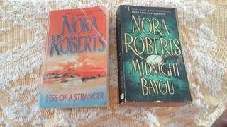 Nora Roberts Novels - Less of Stranger / Midnight Bayou