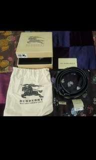 Burberry womens belt