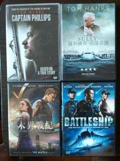 DVD Movie Package - $100 for 4