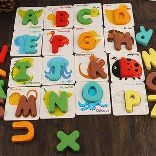 Alphabet /Numbers Matching Game