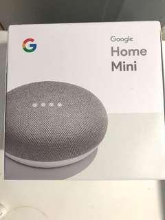 New Google Home mini