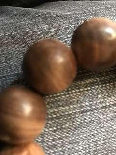 天然加里曼丹佛珠20mm浮水。油重香味足非人工栽植