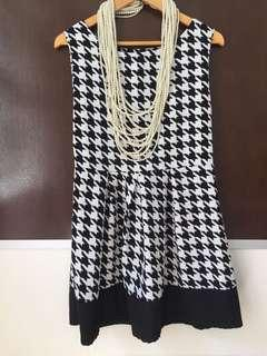 Chanel style one piece free size DRESS ONLY