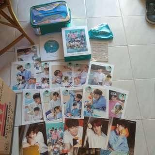 WTS Readystock Wanna One Summer Package member set