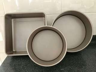 Bakeware round and square (anti-stick)