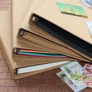B5 6rings Folder and blank inserts (30pcs)