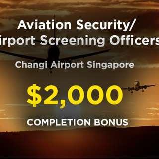 Changi Airport Screening Officers