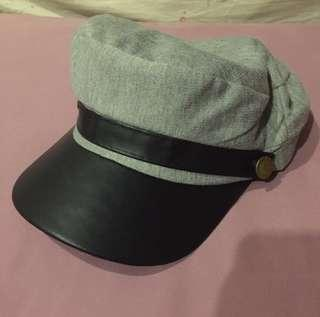 Korean hat light grey