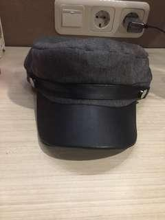 Korean hat dark grey