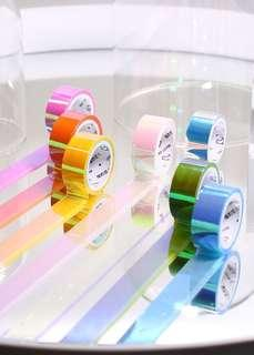 HOT SELLER🔥 HOLOGRAPHIC WASHI TAPES!🔥
