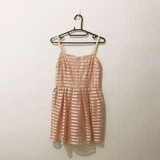 🚚 洋裝 | H&M 英國購回 婚禮洋裝 禮服 S 粉色 粉紅
